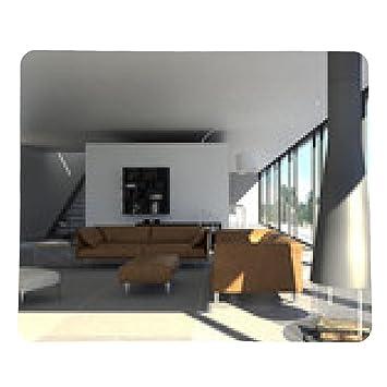 Designer Wohnzimmer Mit Kamin Mousepad Rectangular Amazon Co Uk