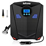 Aullsumy Portable Car Air Compressor Pump DC 12V 150 PSI Auto Digital Gauge Tire Inflator for Car,Bicycle,Motorcycle,sports balls