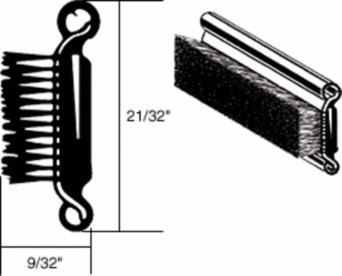 CRL Rigid Stainless Steel Beaded Belt Molding for 1957-1962 Ford - 96' Length C.R. Laurence YM52RP96