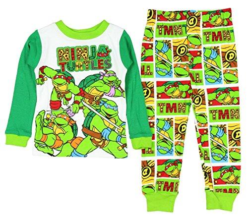 ninja turtles pajamas 2t - 2