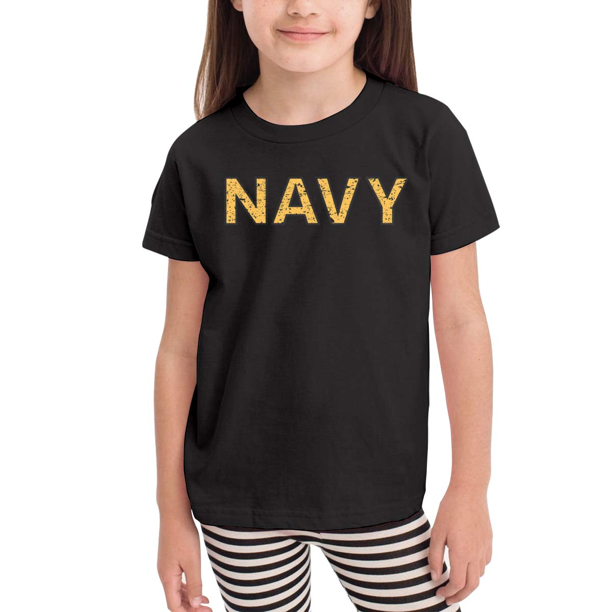 Onlybabycare US Navy 100/% Cotton Toddler Baby Boys Girls Kids Short Sleeve T Shirt Top Tee Clothes 2-6 T
