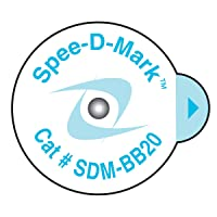 Spee-D-Mark SDM-BB20 Mammography Skin Marker Nipple Radiopaque, 2.0 mm Size (Box of 100)