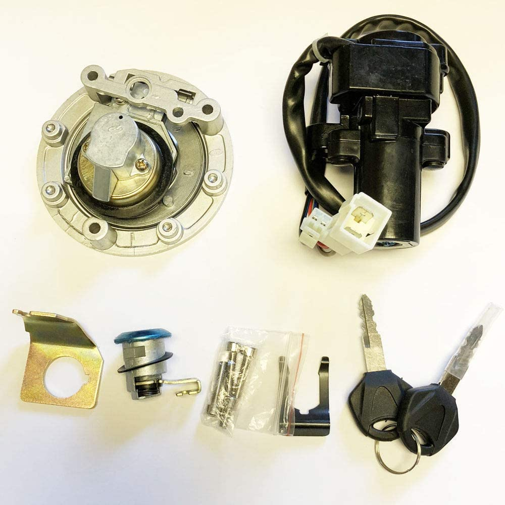 2005 yamaha r6 wiring diagram ignition amazon com ignition switch lock fuel gas cap key set for yamaha  ignition switch lock fuel gas cap key