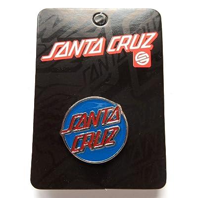Santa Cruz broches Dos classique Push broches Skateboard BMX Skate board SK8NEUF Bleu/rouge
