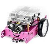 Makeblock mBot可编程教育机器人 高科技儿童智能玩具 diy智能益智机器人套件粉色蓝牙版