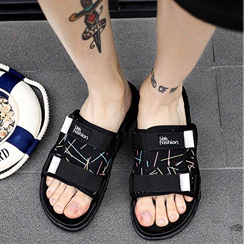 Bleu Décontractées Pantoufles Multicolore Creek Homme Sandales Blanc Chaussures Torisky Bout 46 Femme Coloré Ouvert 38 84xgwvB