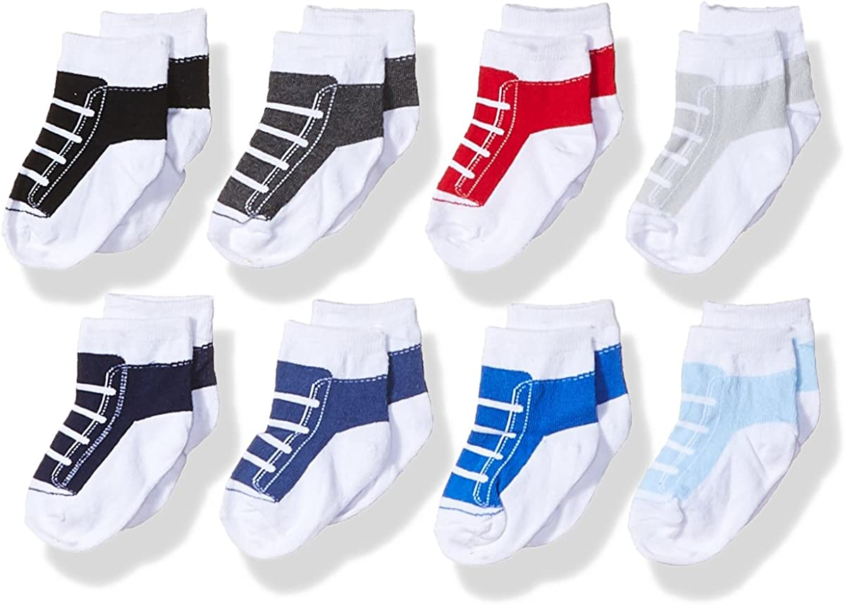 Hudson Baby Unisex Cotton Rich Newborn and Terry Socks: Clothing