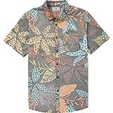 Billabong Big Boys' Sundays Floral Short Sleeve Shirt, Midnight, S