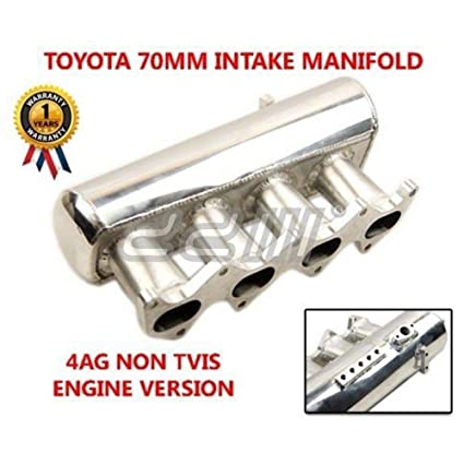 Amazon.com: Toyota Corolla 70mm 16 Valve 4AGE Non TVIS DOHC FWD 2G Racing Intake Manifold: Automotive