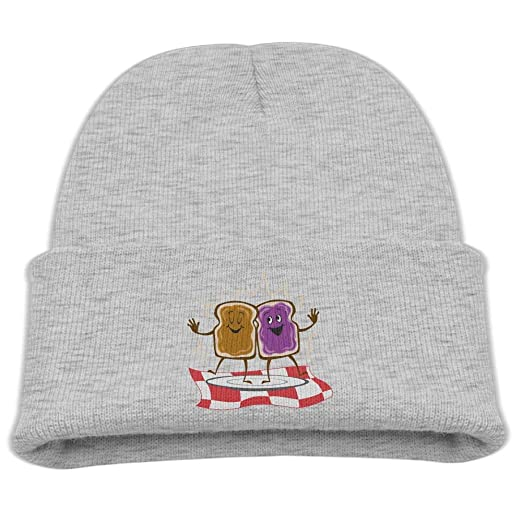Banana King Peanut Butter and Jelly Baby Beanie Hat Toddler Winter Warm  Knit Woolen Watch Cap for Kids at Amazon Men s Clothing store  04a04dd23a2