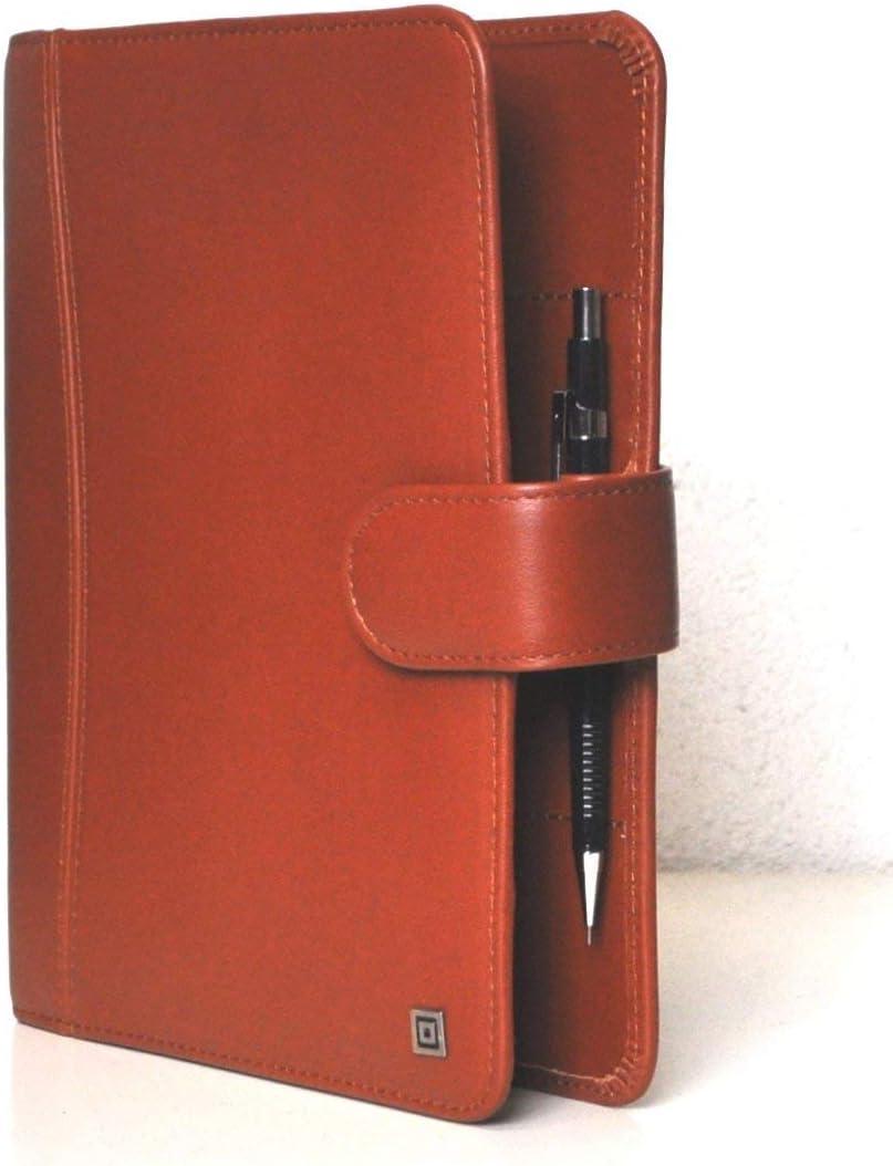 System Montana A5 Marrone Raccoglitore Anelli Business 35mm Vl Agenda pelle Bovina 58018 Tempo