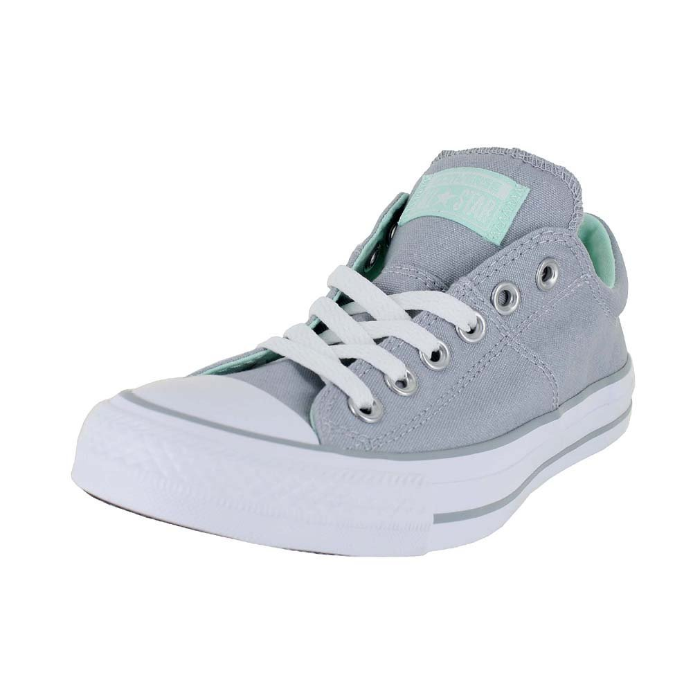Converse Women's Chuck Taylor All Star Madison Low Top Grey Mint, US Women's 6