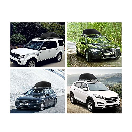 Dozenla Car Roof Top Cargo Bag Vehicles Waterproof Storage Carrier Luggage Travel Organizer [US Stock] by Dozenla (Image #2)