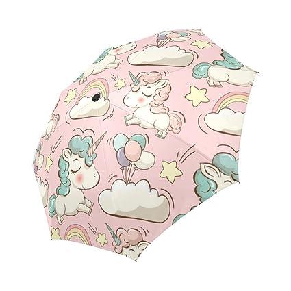 Amazon.com: interestprint lindos unicornios. Resistente al ...