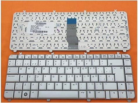 IFINGER Teclado HP COMPAQ DV5 Gris 488590-071 AEQT6P00110 en ...