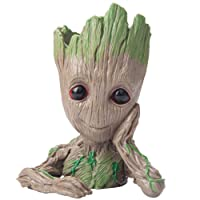 Baby Groot Guardians of The Galaxy Flowerpot Succulent Plants Planter with Drainage...