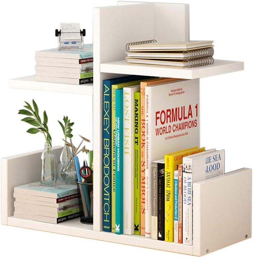 Amazon Com Jcnfa Shelves Desktop Shelf Diy Desktop Storage Rack Independent Bookshelf Store Books Wooden Bookshelf Color White Size 401740cm Kitchen Dining