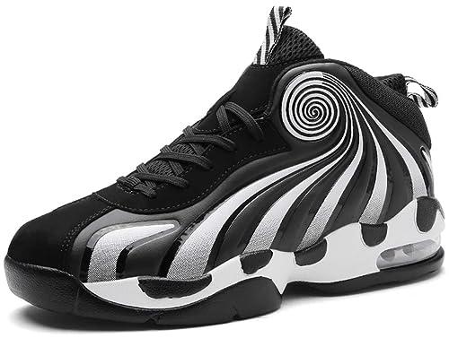 GJRRX Hombre Zapatillas de Baloncesto Aire Libre Transpirables ...