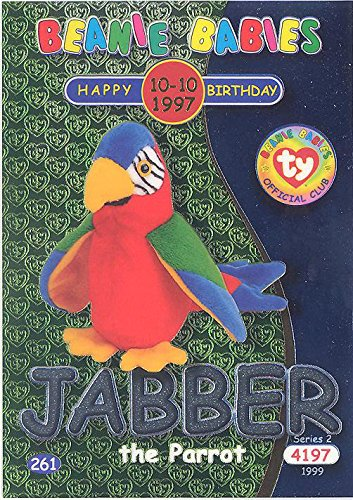 TY Beanie Babies BBOC Card - Series 2 Birthday (SILVER) for sale  Delivered anywhere in USA