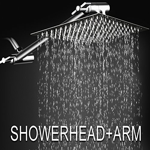 Top 10 best overhead shower head with wand: Which is the best one in 2020?