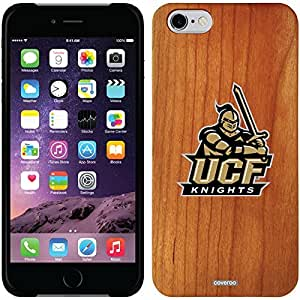 fashion case iphone 6 4.7 Madera Wood Thinshield Case with Central Florida Logo Design