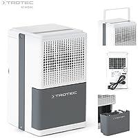 TROTEC Konfor Nem Alma Cihazı TTK 25 E Nem Kurutucu (maks.10 L/Gün), Ev tipi nem alma cihazı, Nem Alıcı, 15 m²/37 m³ büyüklüğündeki alanlara kadar uygundur