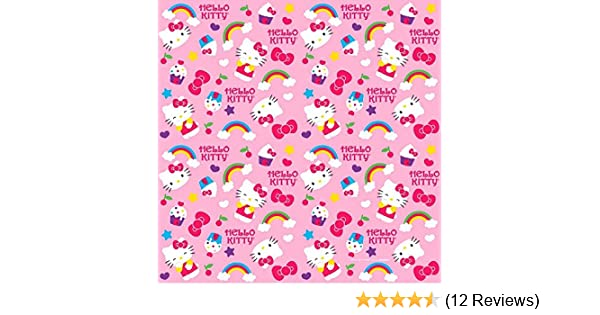 803290872 Amazon.com: Gift Wrap | Hello Kitty Rainbow Collection | Party Accessory:  Kitchen & Dining