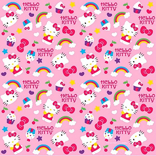 Amazon Adorable Hello Kitty Rainbow Gift Wrap Birthday Party Supply 1 Piece Pink 8 X 30 Kitchen Dining