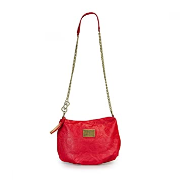 a99ade24bc Amazon.com   Hello Kitty Red Embossed Crossbody Bag   Beauty