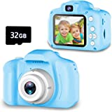 Seckton Upgrade Kids Selfie Camera, Best Birthday Gifts for Boys Age 3-9, HD Digital Video Cameras for Toddler, Portable…