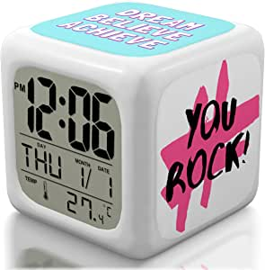 Premium Limited Bedroom Alarm Clock for Heavy Sleepers ...