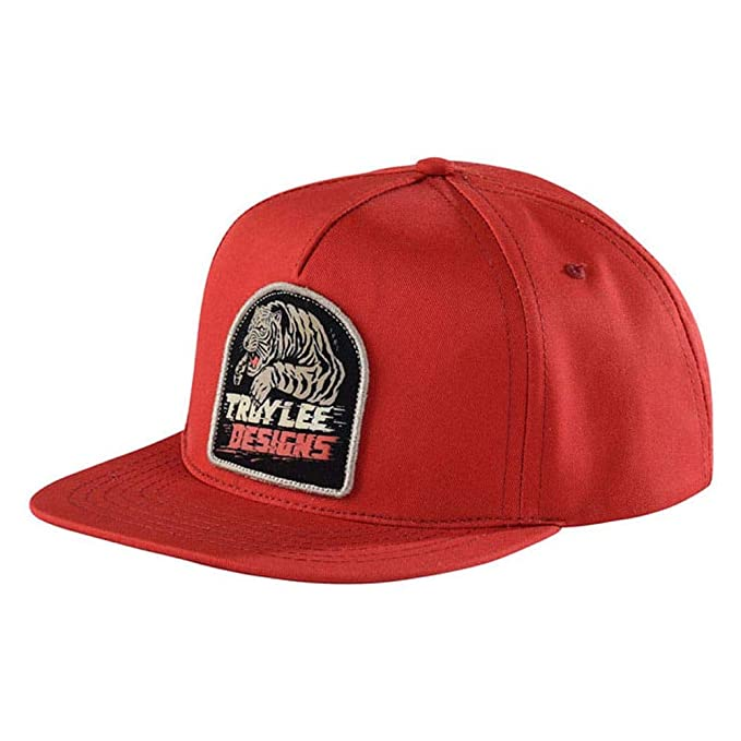 Troy Lee Designs Let Loose Snapback Hat (Rust Orange 827c3fa3bd2