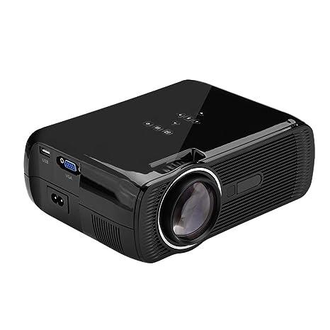 Amazon.com: Richer-R - Mini proyector portátil de 1500 ...