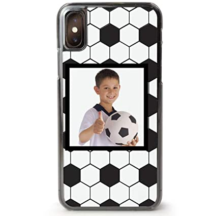 save off f971f 19f13 Amazon.com: Custom Soccer iPhone 7/8 Case | Personalized Soccer Ball ...