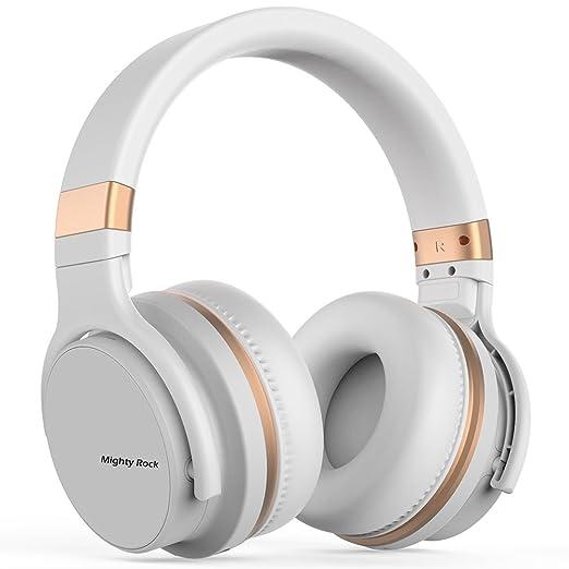 Amazon.com: Mighty Rock E7C Active Noise Cancelling Headphones Bluetooth Headphones Over Ear Wireless Headphones with Microphone Hi-Fi Deep Bass Stereo ...