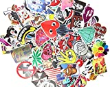 (Pack of 50) Stickers Skateboard Snowboard Vintage Vinyl Sticker Graffiti Laptop Luggage Car Bike Bicycle Decals mix Lot Fashion Cool