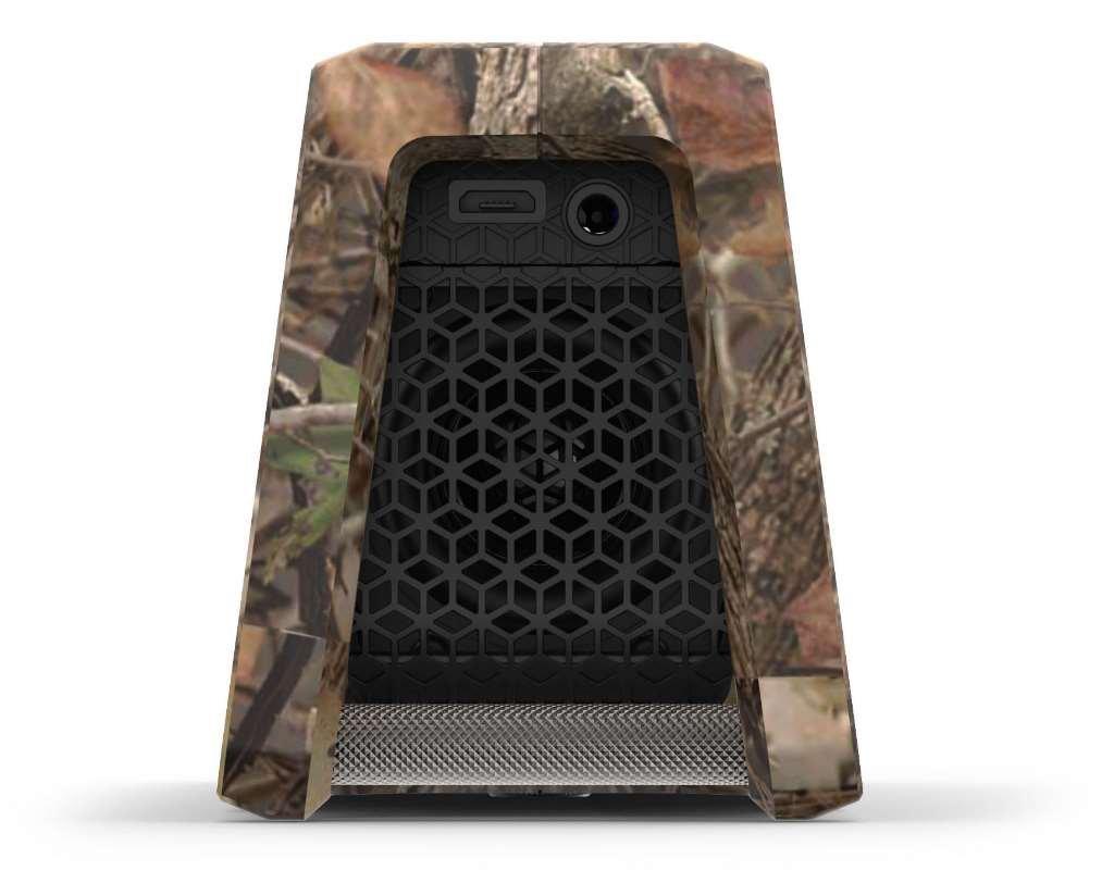 Fugoo Tough Camo Edition Bluetooth Speaker & Jacket Case Set - Portable Surround Sound Speakerphones w/ Custom Reinforced Cover - Waterproof Water-Resistant by Fugoo (Image #5)