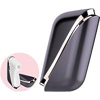Satisfyer Pro Traveler - Estimulador de Clítoris con Tecnología de Pulsos de Aire - Onda de Presión de Succión del Clítoris Sin Contacto, Impermeable, Recargable, Portátil