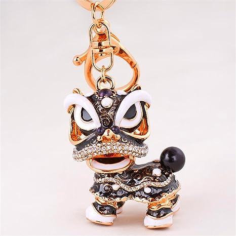 Amazon.com: axmerdal Animal lindo llavero chino danza ...