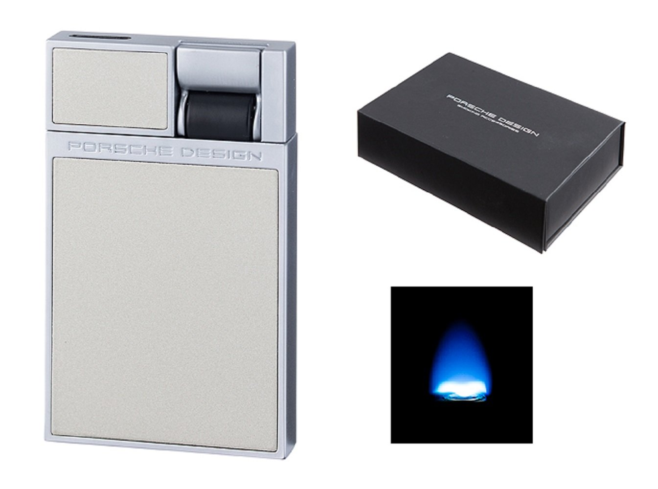 Amazon.de Gas Feuerzeug Porsche Design P3632/04 titan Luxus