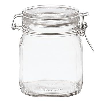 無印良品 ソーダガラス密封ビン 約750ml