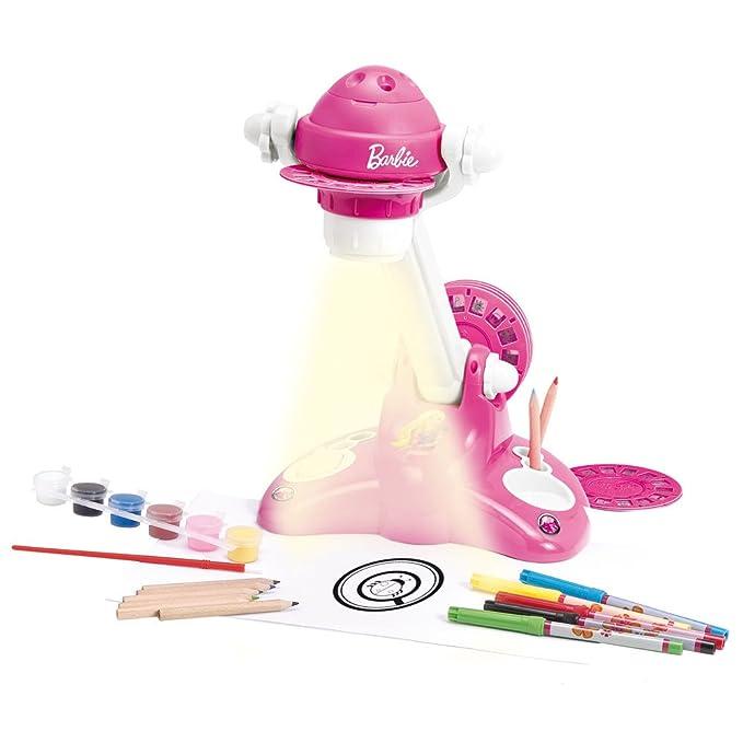 Lexibook CRB100 - Proyector para Dibujar de Barbie