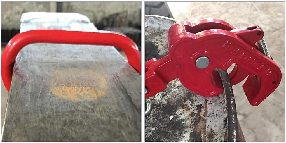 BNLiftingHook Chain Sling 0.5 Ton Iron Oil Drum Lifter Clamp Plastic Bucket Barrel Oil Tank G80 Chain Sling