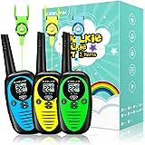KidsWalkieTalkies,WalkieTalkies3Packfor3 to 16MilesRange,WalkieTalkiesforKidswith2WayRadios,ToyWalkieTal
