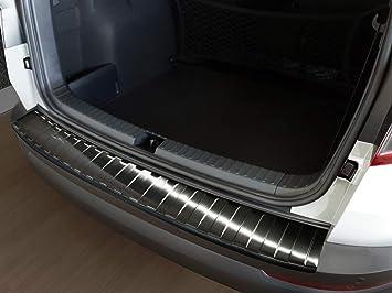 Avisa 2 45195 Ladekantenschutz Fahrzeugspezifische Passform Stoßstangenschutz Mit Abkantung Aus V2a Edelstahl Auto