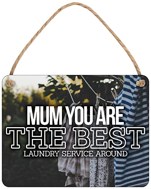 Grindstore Cartel de Chapa Mum The Best (Laundry Service ...