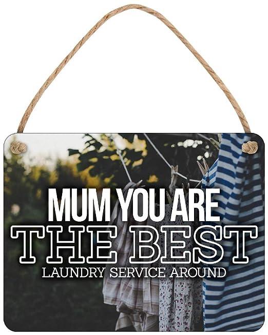 Grindstore Cartel de Chapa Mum The Best (Laundry Service ...