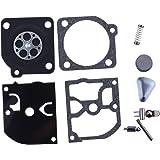 HIPA RB-45 Kit Joints et Membranes de Carburateur pour ZAMA C1Q-EL1 C1Q-EL10 C1Q-EL5 C1Q-EL5A C1Q-EL6 C1Q-EL7 C1Q-M43 Tronçonneuse Husvarna