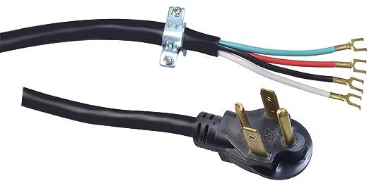 Amazon.com: Coleman Cable 09156 10/4-Gauge SRDT 30-Amp Dryer Power ...