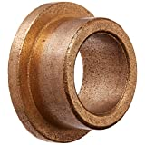 "Bunting Bearings ECOF101408 ECO Oiled Flange Bearing, Powdered Metal, SAE 841, 5/8"" Bore x 7/8"" OD x 1/2"" Length x 1 1/8"" Flange OD x 1/8"" Flange Thickness (Pack of 3)"